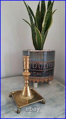 18th C Antique Spanish Candlestick, Antique Brass, Antique Candle Stand Holder