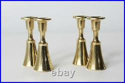 2 Pc Dansk Designs IHQ Jens Harald Quistgaard Brass Candle Holders MULTIP AVAIL
