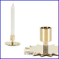 Alexander Girard Brass Candleholder, Star design, made by Vitra, New in Box
