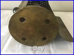 Antique Jeweled Lantern Candle Holder Chandelier Punched Bradley Hubbard Era
