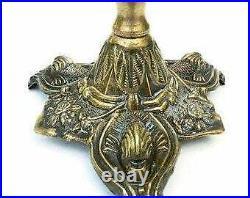 Brass Candelabra Brass Candle Holder /Antique Candelabra / Wedding Candelabra