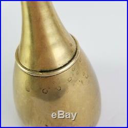 Brass Candlestick Set Candle Holder Mid Century Modern Danish Design Style 14in