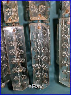 Brass girandole Shaws pat. Dec. 18,1849 near mint