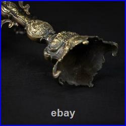 Candelabra Bronze Candle Holder Baroque Gilded Brass French 5 Lights 16.7