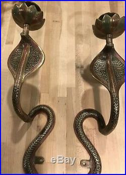 Candle COBRA Wall Sconces