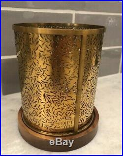 Diptyque Feuillage Brass Candle Holder 34bazar Rare Limited Edition Discontinued