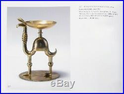 Hagenauer Schweiger Camel Candleholder Austria Modernist Brass Art Nouveau Llama