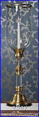Hurricanes Southampton Hurricane Candle Holder Antique Brass