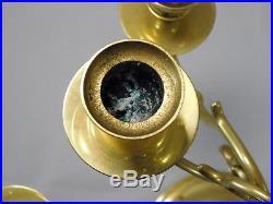 John Baldwin USA America Solid Brass Candelabra 13 Arm Ornate Candle Holder