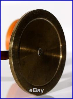 KERZENSTÄNDER art deco candle holder solid brass chandelier candelabro 30s
