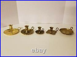Lot of 20 Vintage Brass Candle Stick Holders for Wedding, Party, Home Decor