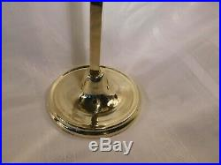 Metalcrafters Williamsburg style Brass Candelabra adjustable beautiful finish