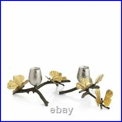 Michael Aram Butterfly Grinko Candle Holder Set of 3