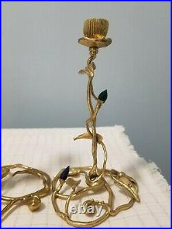 Michael Aram Enchanted Garden Luxe Candle Holders