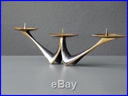 Mid Century brass candle holder by Klaus Ullrich for Faber & Schumacher Germany