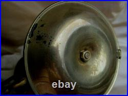 Pair Antique Gimbal Brass Ships Candle Holders Maritime Nautical Boat Sconces