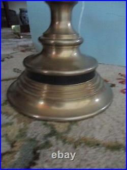 Pair of Brass Ram Horn Candlesticks by Chapman