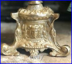 Solid Brass Candle holders Gothic / Baroque / Church Alter Wedding 23.5