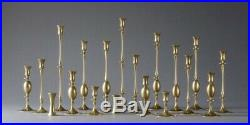 Ted Muehling 0205 Burnished Brass Candlestick