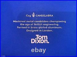 Tom Dixon Cog Candle Holder Candelabra Brass