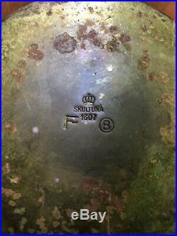 Vintage Pierre Forsell Skultuna 1607 Brass Vase
